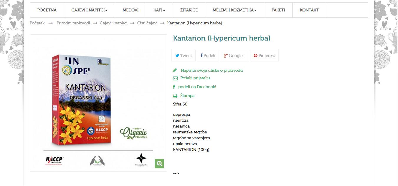 Kantarion (Hypericum herba)