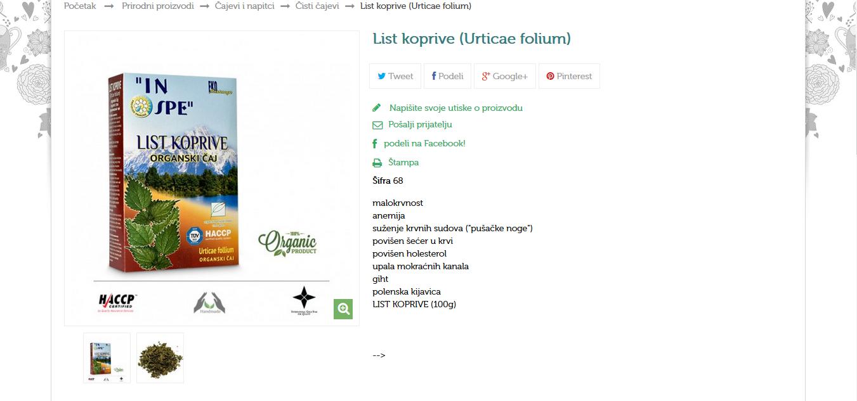 List koprive (Salviae folium)