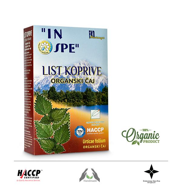 Čaj od lista koprive (Salviae folium)