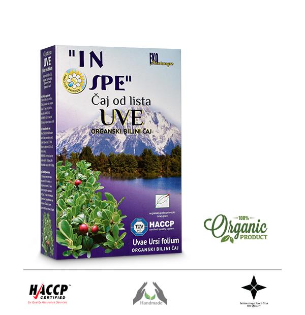 Čaj od lista uve (Uvae ursi folium)