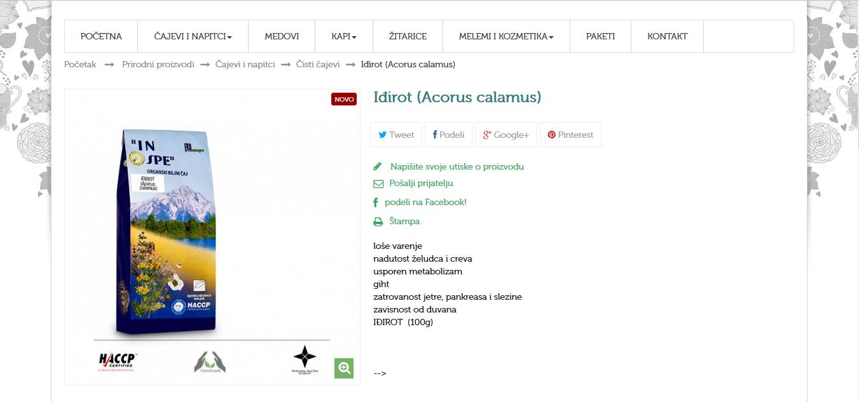 Iđirot (Acorus calamus)