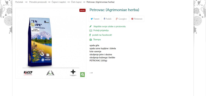 Petrovac (Agrimoniae herba)