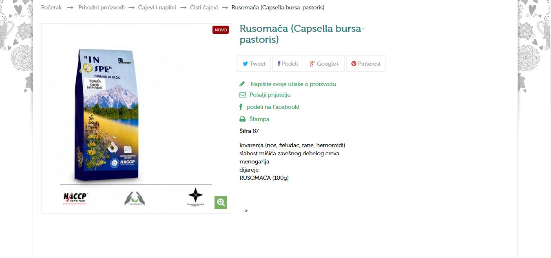 Rusomača (Capsella bursa-pastoris)