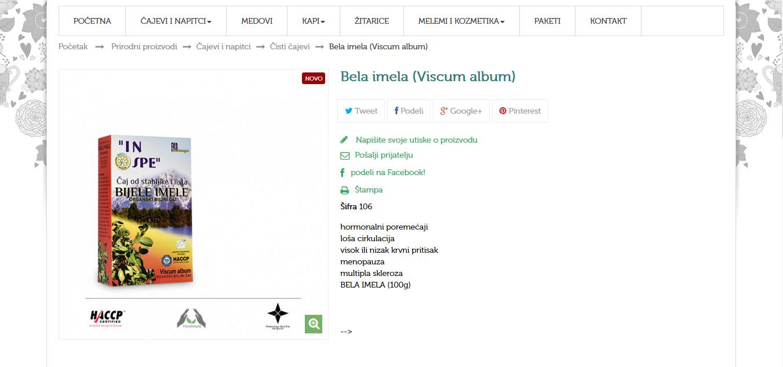 Bijela imela (Viscum album)