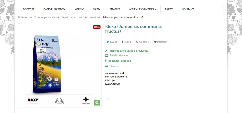 Kleka (Juniperi communis fructus)