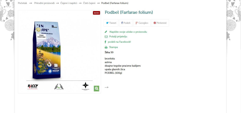 Podbel (Farfarae folium)